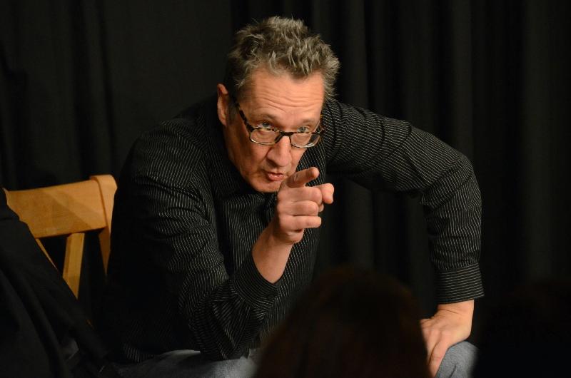 Begeisterte in der ARCHE: Kabarettist Holger Paetz.