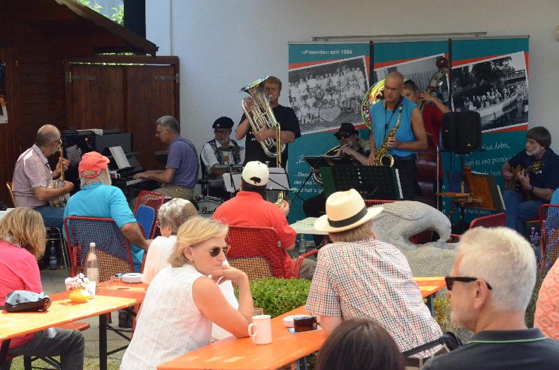 Die Dixiefreundeschaffenfreude-Benefiz-Session-Band