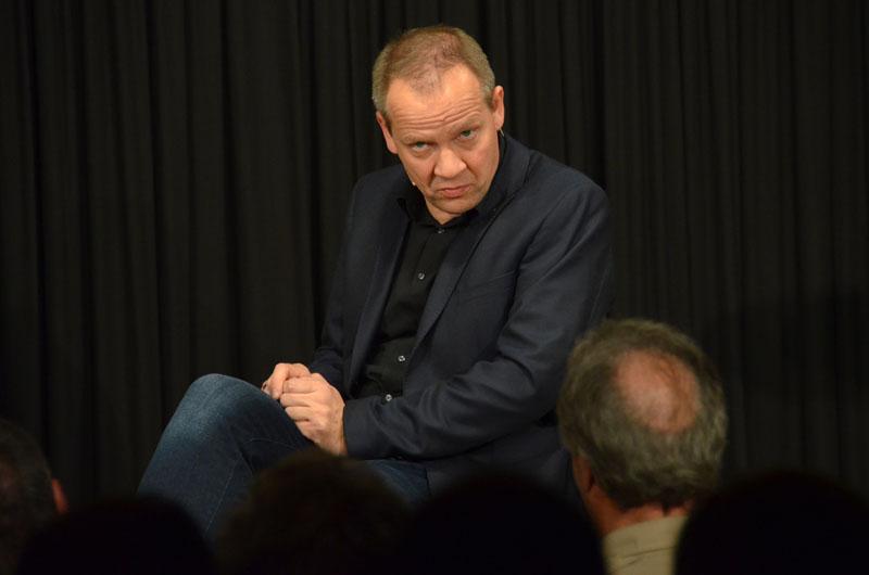 Bringt es fertig, Parallelen zwischen Shakespeare und Bundespolitik zu ziehen: Kabarettist Thomas Schreckenberger.